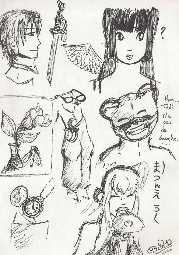 au fil du mine de crayon, 2. - Page 2 1